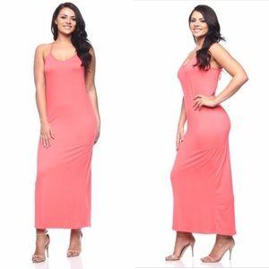 NWOT Plus Size Cami Maxi Dress